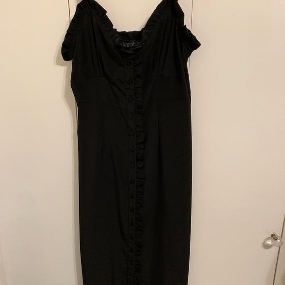 Topshop Dresses & Skirts - Button up slip dress